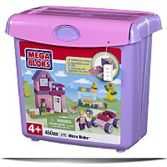 Micro Bloks Scoopn Build Bucket Pink